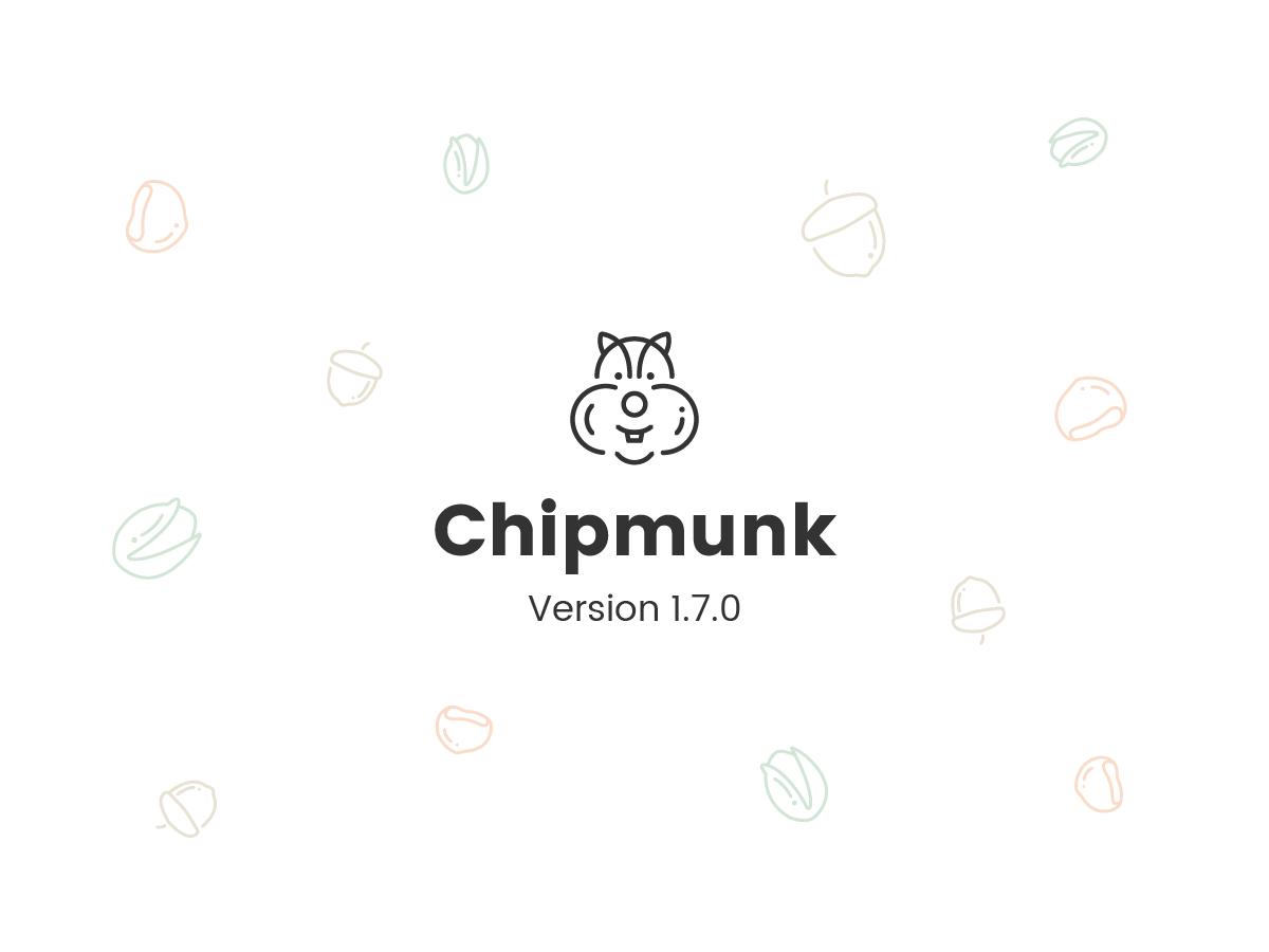 chipmunk theme