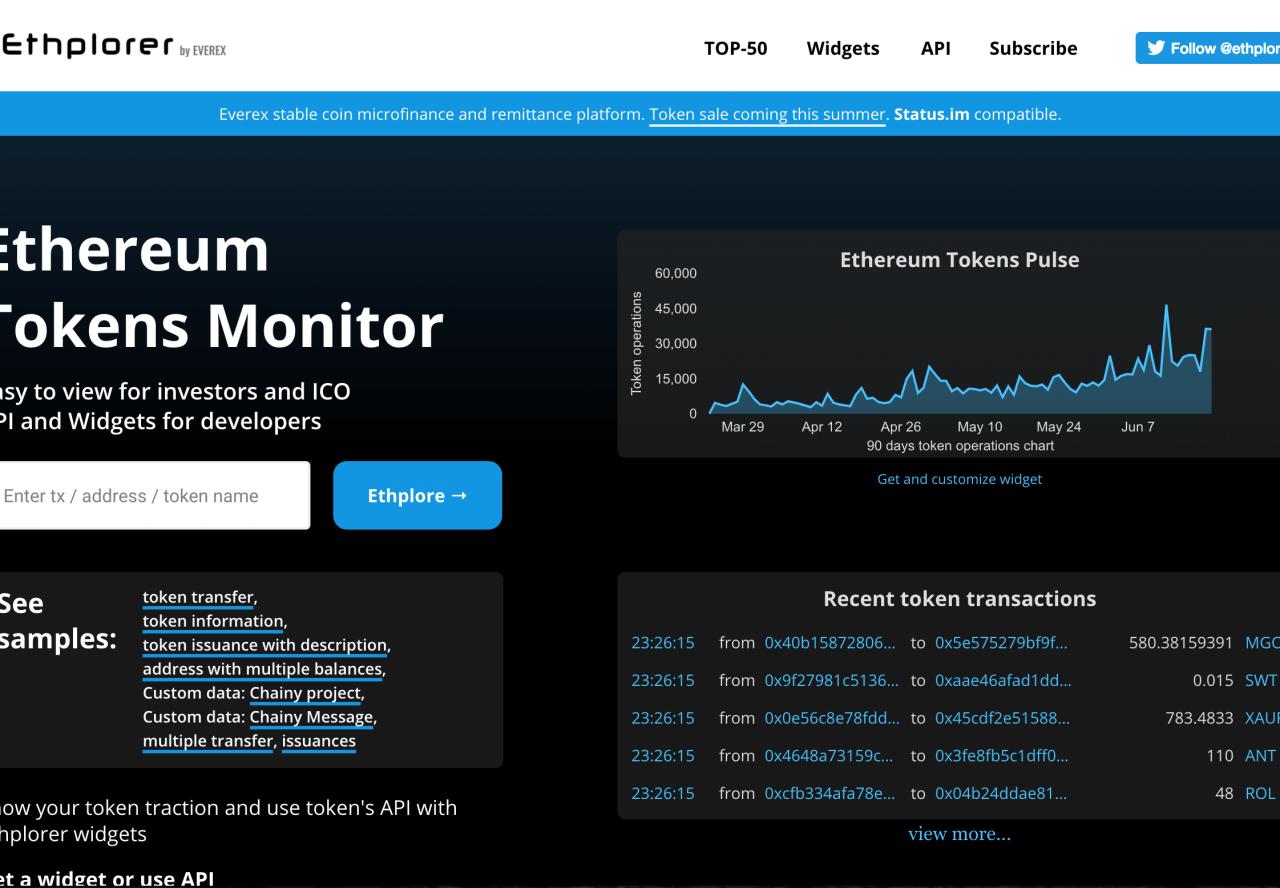 monitor ethereum)
