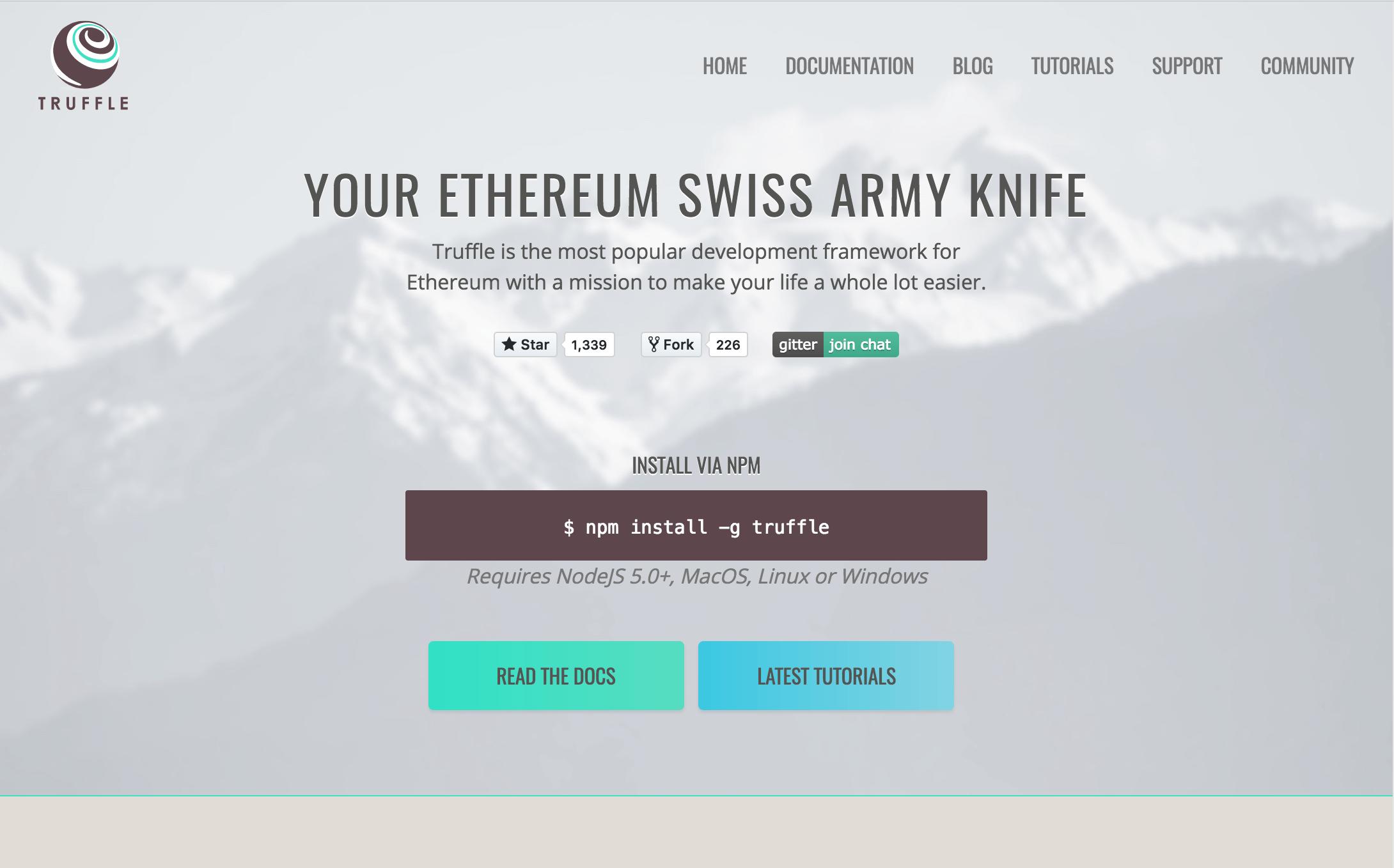 Truffle Framework for Ethereum - Cryptominded
