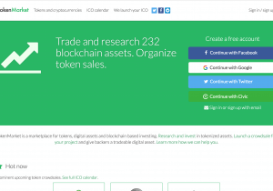 TokenMarket screenshot