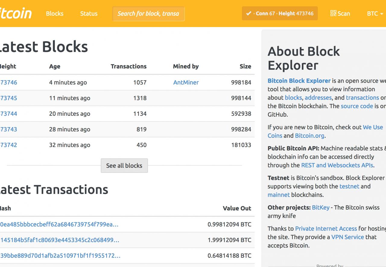 BlockSearchEngine.com - Blockchain Explorer