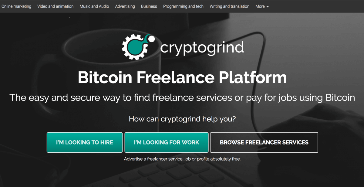 cryptocurrency freelance jobs